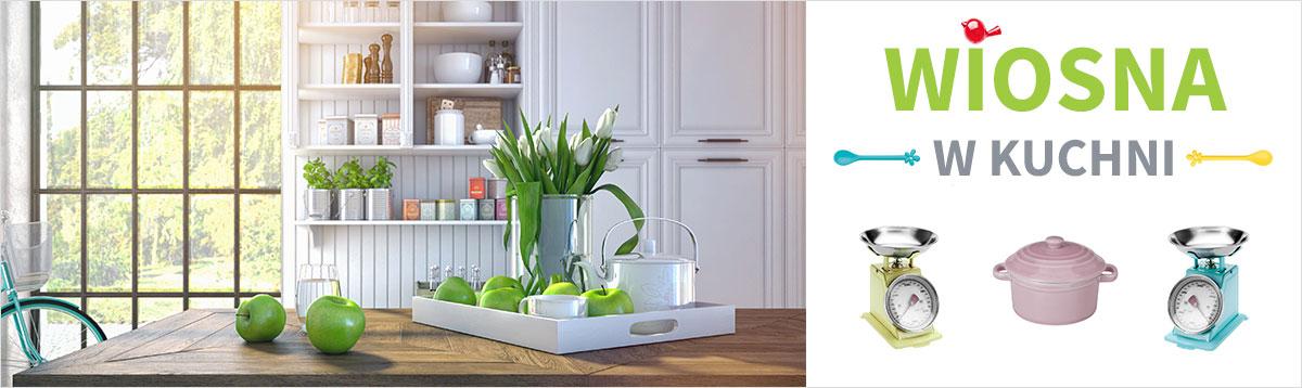 Wiosna w kuchni. Dodatki kuchenne w żywych lub pastelowych kolorach, które ożywią Twoje wnętrze.