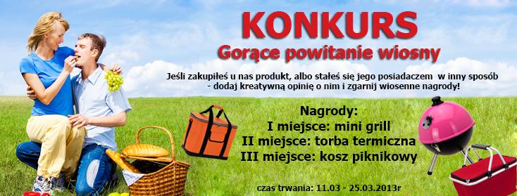 Konkurs gorące powitanie wiosny z emako.pl