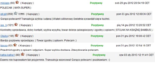 Opinie o sklepie Emako.pl z allegro.pl